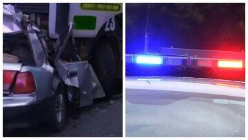 Трагедия на украинской дороге унесла жизни четырех людей, авто смяло от удара в грузовик: кадры