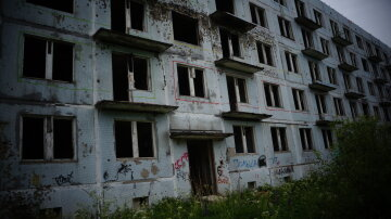 дом, разруха