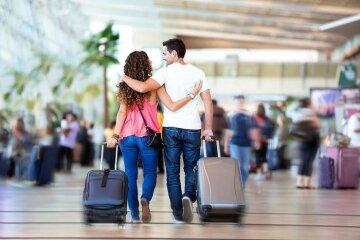 чемодан турист отпуск