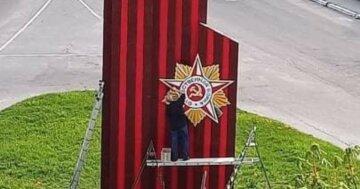 """""""Відновлювали за бюджетні гроші"""": скандал через радянську зірку розгорівся під Києвом"""