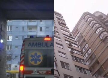 """Малыш рухнул с 7-го этажа в Тернополе: """"Оперся на москитную сетку"""""""
