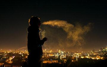 курить, курение, сигарета