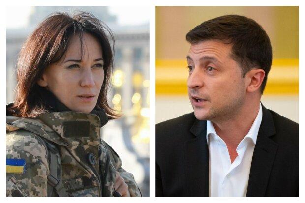 """Волонтерка Зверобой набросилась на Зеленского, появилось жесткое заявление: """"На лбу вам налепим"""""""