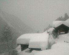 снег, Швейцария