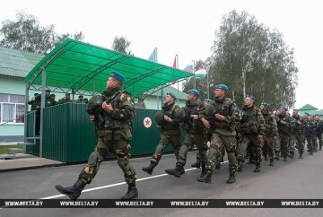 Російські військові навчання стартували в Білорусі (фото)