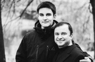 Виктор Павлик с сыном