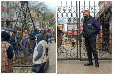 """Новий бунт спалахнув в Одесі, фото: """"сотня людей взяла в облогу ..."""""""