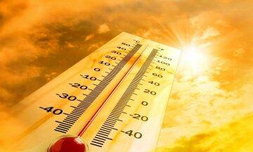 жара, солнце, термометр