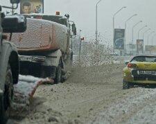 дорога-снег