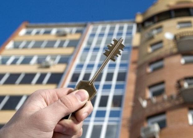 недвижимость, новострой, квартира, ключ, дом