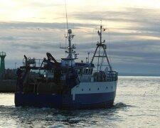 украинское судно, черное море