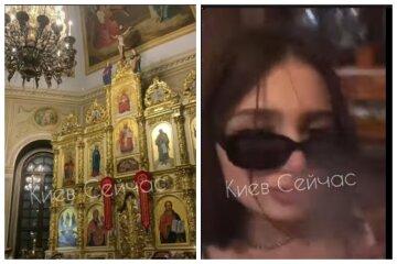 """Дівчата влаштували свавілля в церкві в центрі Києва і записали все на відео: """"Палили і задували свічки"""""""
