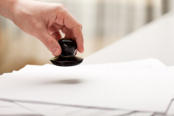договор печать документ
