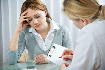 прием врача, симптомы
