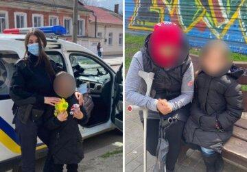 """Украинка """"зарабатывает"""" на жизнь попрошайничеством вместе с 8-летней дочерью: за семью взялась полиция"""