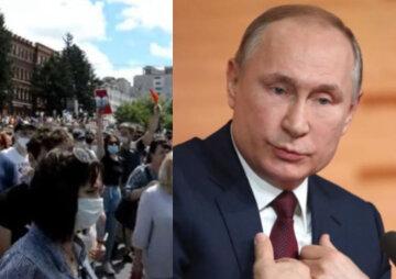 """""""Нам не нужен конфликт с Украиной"""": терпение россиян лопнуло, люди вышли на улицы и воззвали к Путину"""