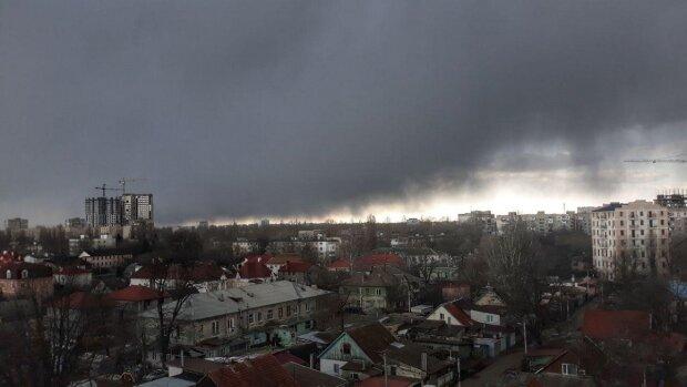 погода, тучи, дождь, Одесса
