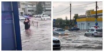 Залило водой: непогода наделала беды в  Симферополе, жуткие кадры