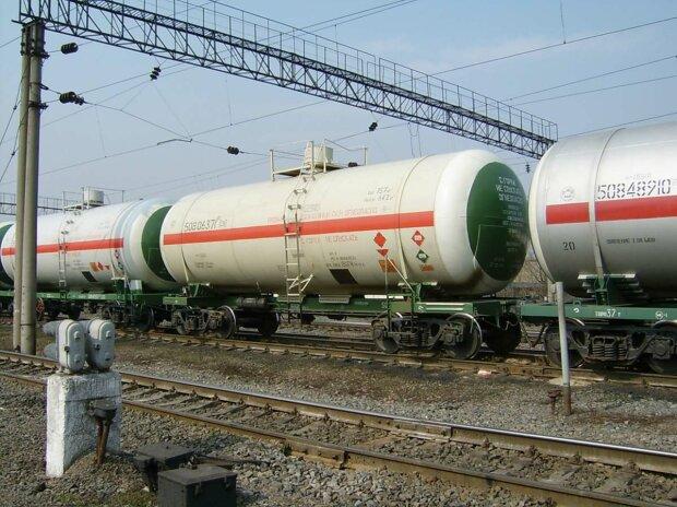цистерна поезд топливо