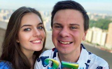 Олександра кучеренко, Діма комаров з дружиною
