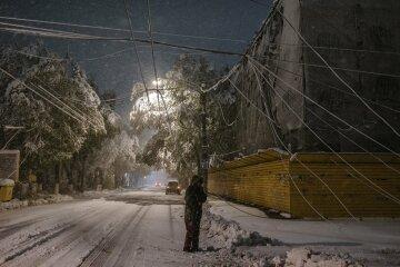 молдавия кишинев снег