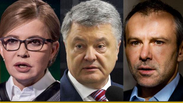 Порошенко, Тимошенко, Вакарчук