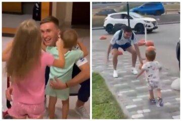 """Діти зустріли футболістів після Євро-2020, зворушливі відео: """"Аж очі промокли"""""""