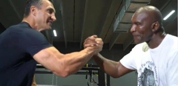 """Холифилд и Кличко вместе готовятся к возвращению на ринг, видео: """"Чтобы быть легендарным, нужно..."""""""