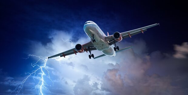 самолет, турбулентность