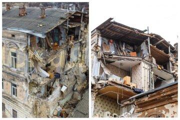 Багатоповерховий житловий будинок впав у центрі Одеси: з'явилося відео