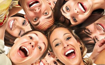смех, улыбка