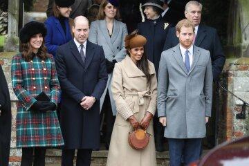 принц гарри, принц уильям, меган маркл, кейт миддлтон