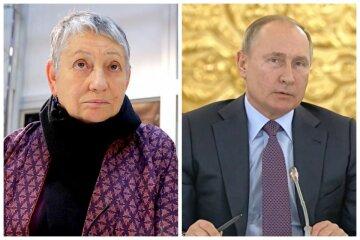 """Писательница Улицкая рассказала, как Путин покинет пост президента: """"Нет обратного пути"""""""