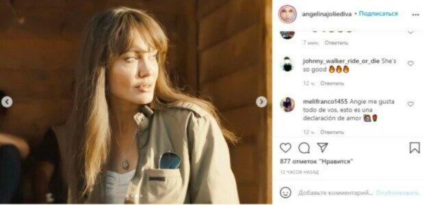 Анджелина Джоли в откровенной блузке забыла прикрыть пышное декольте: фото