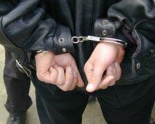 задержанный преступник наручники задержание