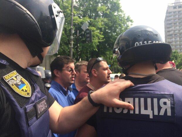 полиция силовики бунт протест