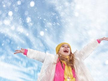 снегопад,
