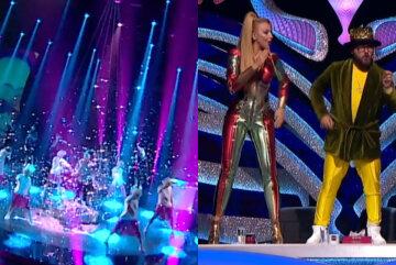 """Безбашенная Сердючка в шортах взорвала шоу """"Маска"""", загнав Полякову и других на стол: """"Небольшая подсказка: я..."""""""
