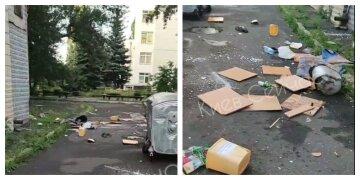"""Масштабный дебош устроили в общежитии украинского ВУЗа, видео: """"выбрасывали из окон стулья"""""""