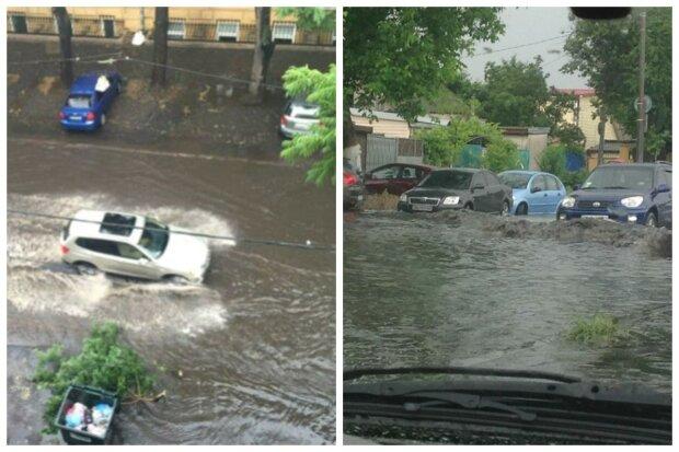 Стихия накрыла Одессу, город ушел под воду: кадры последствий появились в сети