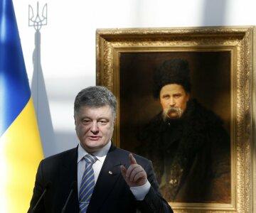 Порошенко и Шевченко
