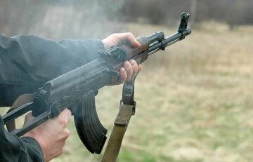 стрельба, перестрелка,