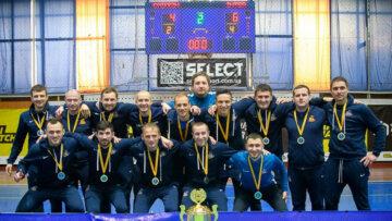 Команда СЕРВІТ перемогла у києвському чемпіонаті з футзалу в сезоні 2020-2021 років