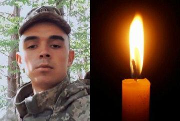"""Украина потеряла 23-летнего бойца на Донбассе, кадры прощания: """"Навсегда в скорби мать и отец"""""""