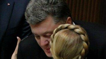 Порошенко Тимошенко