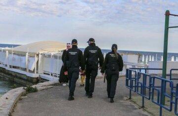 поліція, море