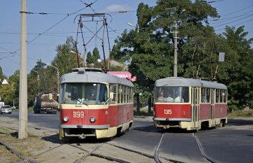 трамвай, Днепр