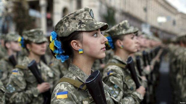 женщины военные ато