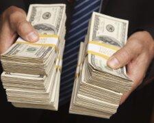 доллары. деньги, бизнесмен