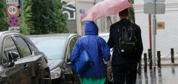 дождь погода весна люди